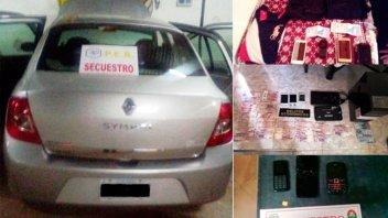 Hallaron dinero en la casa del empleado de concesionaria que robó autos