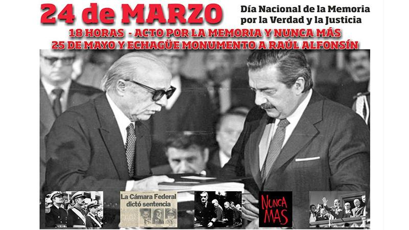 En Río Gallegos también se pidió Memoria, Verdad y Justicia