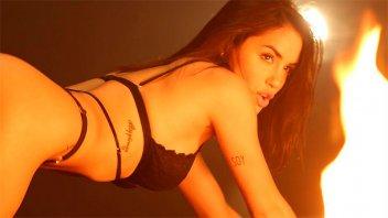 Lali Espósito sigue explotando su costado más sensual