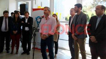 Frigerio y Varisco inauguraron un jardín de infantes en un barrio de Paraná
