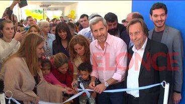 Frigerio y Varisco inauguraron un jardín maternal en un barrio de Paraná