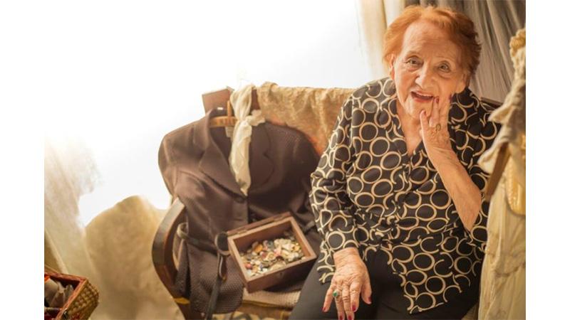 """Doña Blanca cumplió 100 años y se siente """"como una piba de 20"""""""