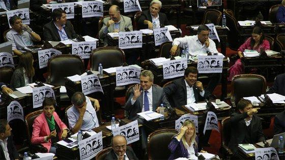 La primera sesión del año en Diputados terminó con una fuerte polémica