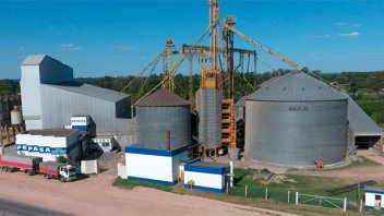Un joven murió cuando trabajaba en un silo de una planta de alimentos