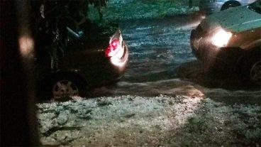 Fuerte temporal de lluvia y granizo en Capital Federal y Gran Buenos Aires