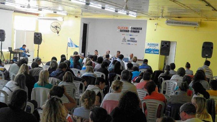 Agmer realiza paro y el gobierno dio por concluida la negociación salarial