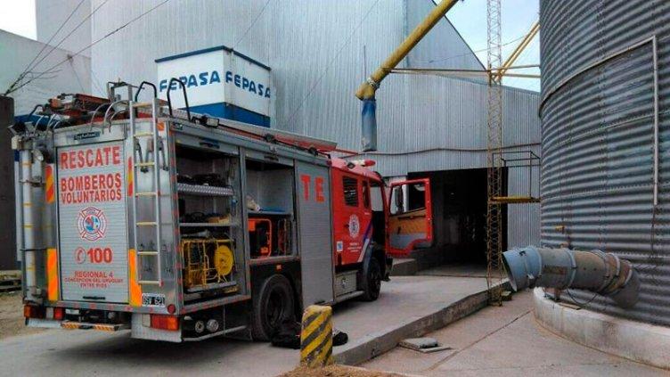 Establecieron qué desencadenó la muerte del trabajador atrapado en un silo