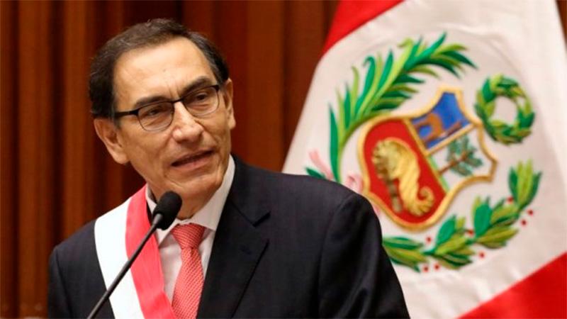 Presidente de Perú propone tregua y lucha contra corrupción