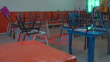 Alto acatamiento al paro de Agmer en una escuela de Paraná