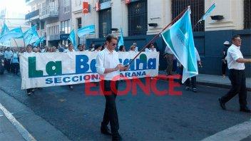 Bancarios ratificaron la huelga por 48 horas y convocaron a movilizaciones