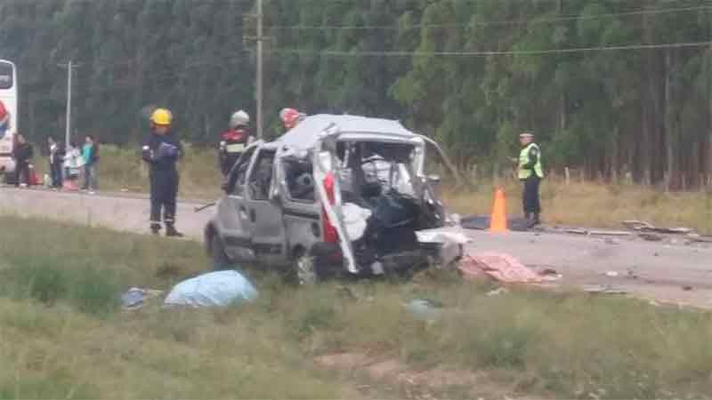 Tragedia sobre Autovía Artigas: Así quedaron los vehículos involucrados