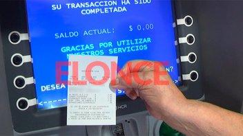 Los recibos de jubilados se pueden obtener en cajeros automáticos