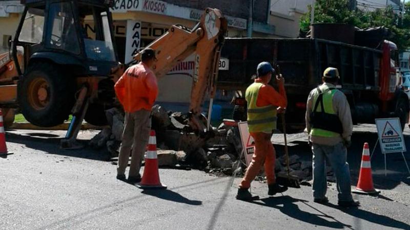 Reanudan los trabajos de reconstrucción vial en zona de la Terminal ...