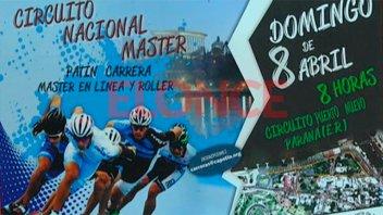 El domingo se realizará el circuito Nacional Máster de Patín Carrera