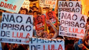 Brasil: Hubo manifestaciones a favor del expresidente Lula da Silva