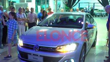 Presentaron en Paraná el nuevo Volkswagen Virtus