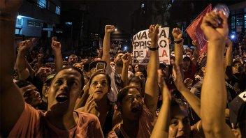 Hubo marchas en apoyo a Lula que consideró