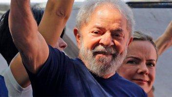 Un juez federal ordenó la liberación de Lula da Silva