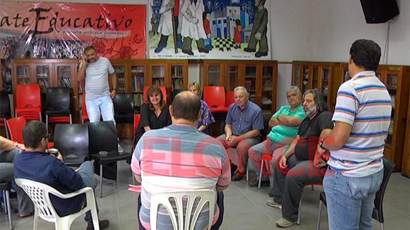 La Multisectorial se reunió este lunes en la sede de Agmer Paraná
