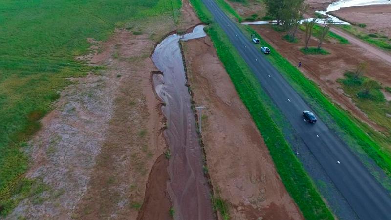 El arroyo La Paraguaya