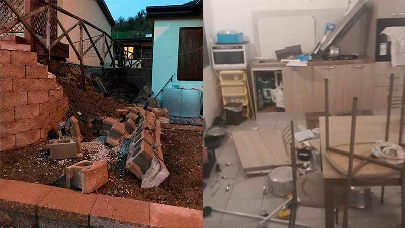 Un sismo causó daños en el centro de Italia