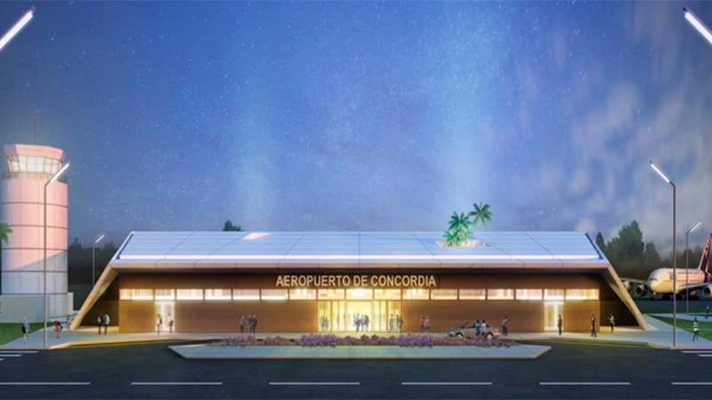 Resultado de imagen para Aeropuerto Concordia-Salto