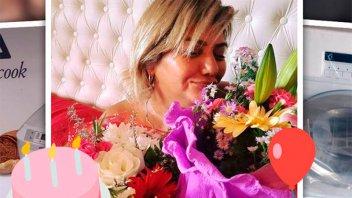 La Bomba Tucumana, sorprendida por los regalos de su novio
