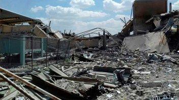 Fotos y videos: Así fue el ataque y cómo quedaron los objetivos bombardeados