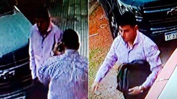 Video: Registran el robo de un maletín a conocido conductor televisivo