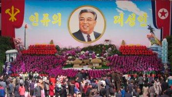 Corea del Norte celebra el aniversario de su fundador sin desfile militar