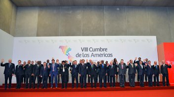 Cumbre de las Américas: Se aprobó un compromiso de