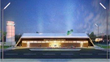 Gestionan el financiamiento para la ampliación del aeropuerto de Concordia
