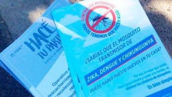 Realizaron un bloqueo sanitario ante el caso confirmado de dengue en Paraná