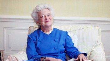 Murió Barbara Bush, ex primera dama estadounidense