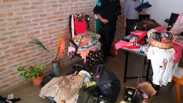 Ofrecían por redes sociales prendas robadas en tiendas de Paraná Campaña