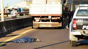 Había robado en Paraná el acusado de violar a una nena: Murió chocado por camión