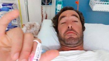 Habló el argentino que fue atacado por un tiburón y sobrevivió para contarlo