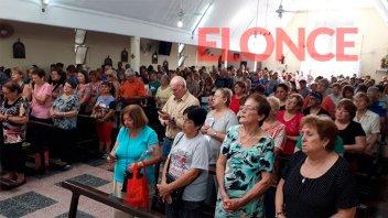 Con cinco misas, celebran el Día de San Expedito en Paraná