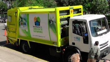 Empleado de recolección de residuos sufrió un grave accidente laboral