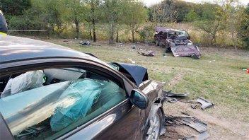 Niña murió y su hermanita melliza está grave tras un violento choque
