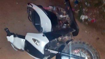 Detuvieron a motociclista que golpeó a policía en un operativo de control