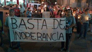 Vecinos de Gualeguaychú se movilizaron para reclamar por