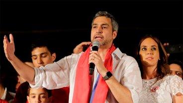 El presidente electo de Paraguay prometió que será