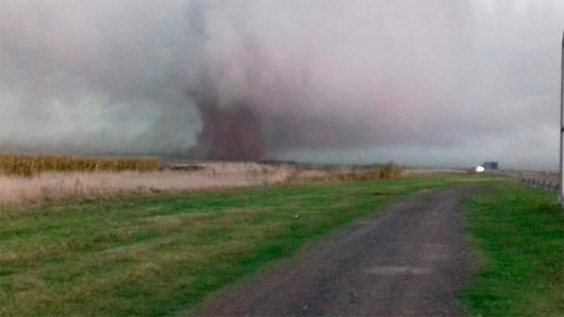 Fuerte tormenta en provincia de Buenos Aires