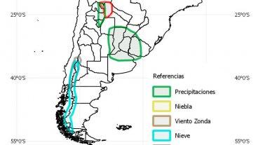 Sigue la inestabilidad: Pronostican lluvias de hasta 100 milímetros