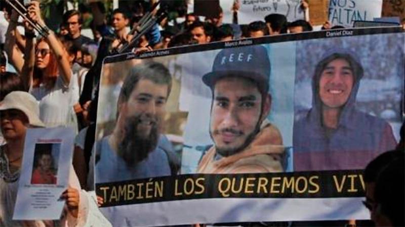 Crímenes narco: Asesinaron a tres estudiantes de cine y los