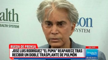 Conmovedor relato del Puma Rodríguez tras el doble trasplante de pulmón