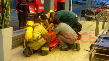 Carrefour realizó un simulacro de evacuación en un supermercado de Paraná