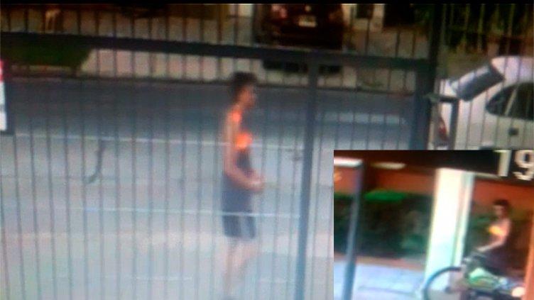 Indignación: delincuente entró a un edificio y robó la bicicleta del portero