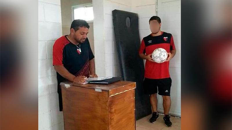 Mataron a un entrenador de fútbol de Colón